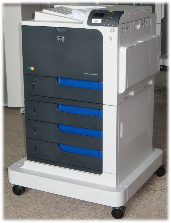 HP Color LJ CP4525Xh 40 ppm 512MB Duplex LAN 341.590 Seiten Farblaserdrucker