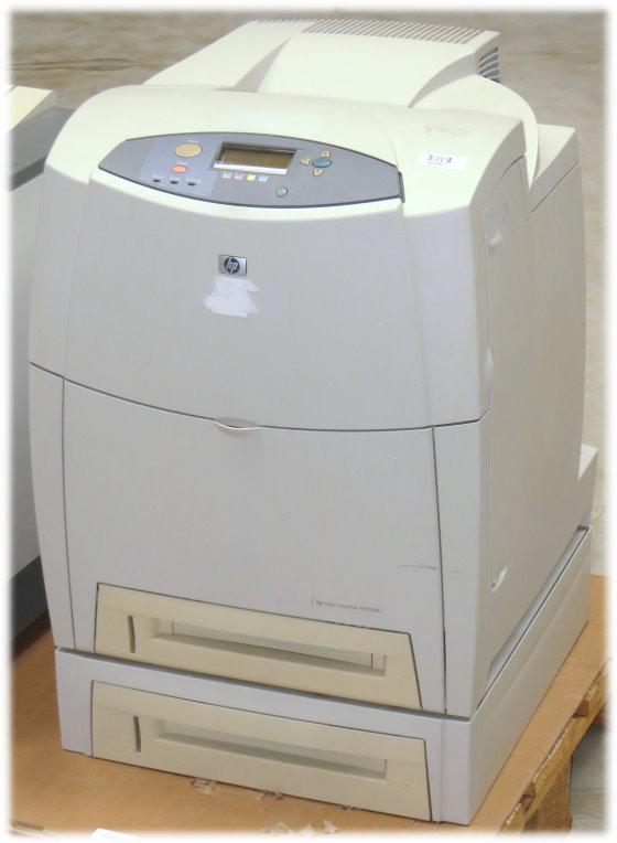 HP Color LJ 4650dtn 22ppm 128MB Duplex LAN 254.450 Seiten Farblaserdrucker B- Ware