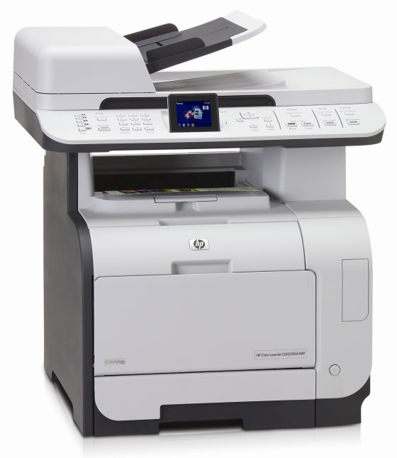 hp color lj cm2320nf mfp all in one fax kopierer scanner. Black Bedroom Furniture Sets. Home Design Ideas