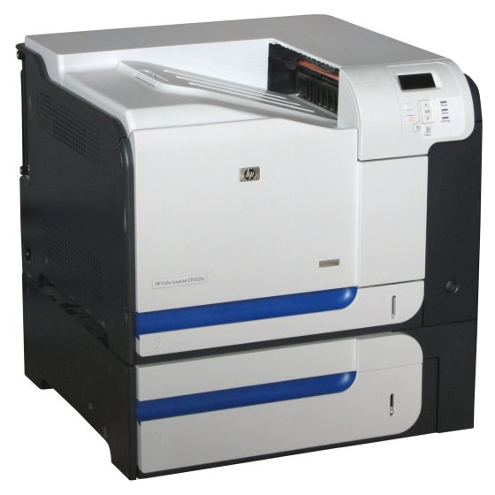 HP Color LJ CP3525x 30 ppm 512MB Duplex LAN 97.720 S. Farblaserdrucker vergilbt