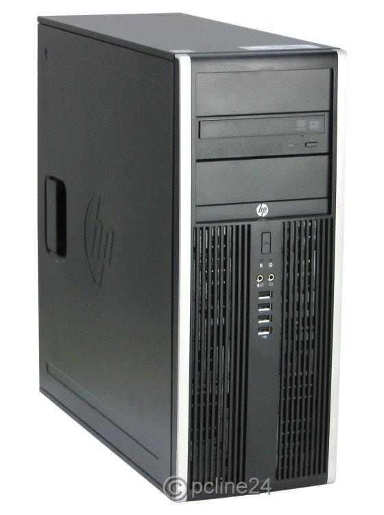 HP Compaq 8000 Elite CMT Dual Core E5400 @ 2,7GHz 4GB 250GB DVD Tower PC