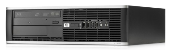 HP Compaq 8000 Elite SFF Core 2 Duo E8500 @ 3,16GHz 4GB 250GB DVD±RW Computer