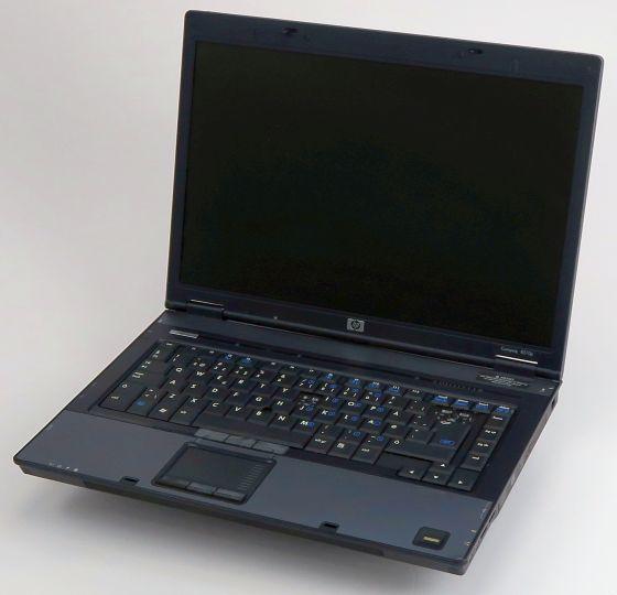 HP Compaq 8510p C2D T7300 2GHz 2GB 120GB DVDRW WLAN ATI Radeon dänisch B-Ware