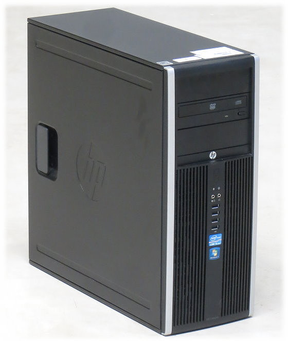 HP Elite 8200 CMT Quad Core i5 2400 @ 3,1GHz 4GB 250GB DVD Tower