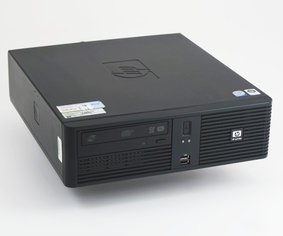 HP/Compaq RP5700 Kassencomputer Core 2 Duo E6400 2,13GHz 2GB 160GB 4x Powered USB