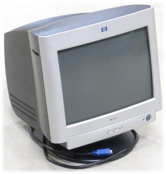 """15"""" CRT HP/Compaq S5500 1024 x 768 VGA D-Sub 15pin Monitor Rarität Vintage"""