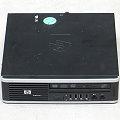 HP Compaq 8000 Elite Core 2 Duo E8400 @ 3GHz 4GB 80GB USDT Tiny mini PC ohne Netzteil