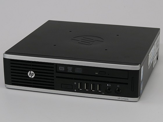 HP Elite 8200 USDT Core i5 2500S @ 2,7GHz 4GB 250GB DVD-ROM Ultra-Slim PC