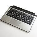 HP Tastatur deutsch mit Backlight P5Q65AA für Tablet Elite X2 (Touchpad-Taste defekt)