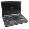 HP EliteBook 8560w Core i7 2820QM @ 2,3GHz 16GB 128GB SSD FullHD (Akku defekt) B-Ware