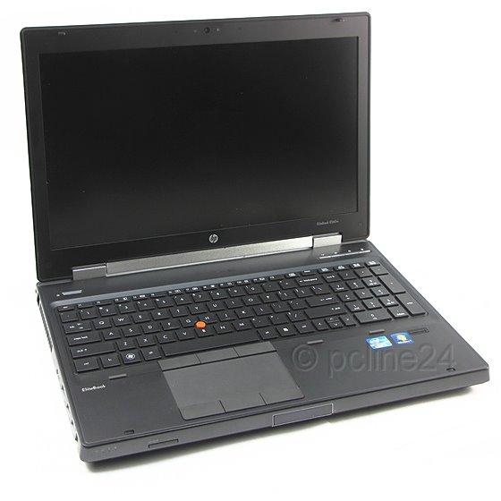 HP EliteBook 8560w i7 2820QM 2,3GHz 8GB FullHD (Akku defekt, ohne HDD, BIOS PW)