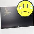 "23"" TFT LCD HP EliteDisplay E230t IPS 1920 x 1080 Touchscreen defekt ohne Standfuß"