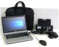 Notebook Set HP 8470p i7 2nd @ 2,9GHz 8GB neue 240GB SSD + Docking/Tasche/Maus + Win 10 Pro