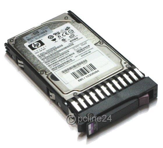 "2,5"" HP DG072BABCE 72GB 10K SAS HDD MBB2073RC im Hot Swap Tray 375863-002"