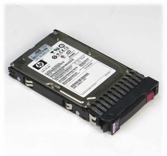 "2,5"" HP DG146A3516 146GB 10K SAS HDD MBB2147RC im Hot Swap Tray 432320-001"