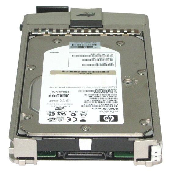 HP BF300D6188 300GB 15K FC 40 Pin PN.: 5697-6816 im Tray für HP FC-Systeme EVA