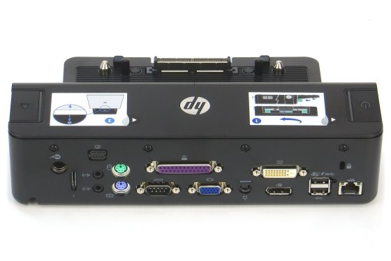 HP HSTNN-I11X A7E32AA Dockingstation USB 3.0 für Elitebook 8460p 8470p 8560w 8570w