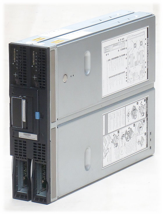 HP Integrity BL870c i2 2x Itanium 9320 @ 1,33GHz 192GB P410i SAS Blade Server