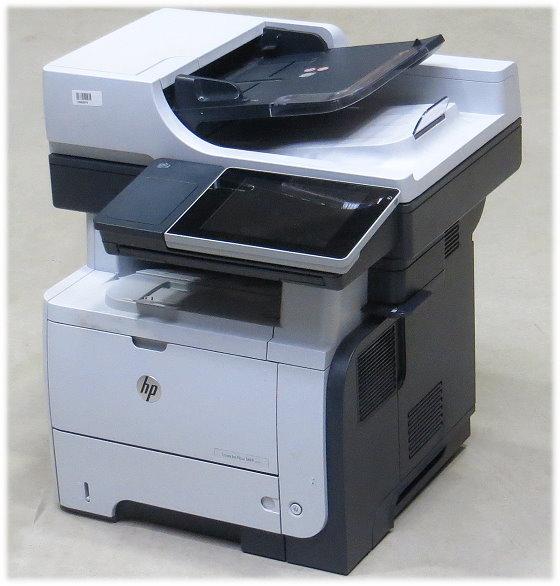 HP LJ flow MFP M525c FAX Kopierer Scanner Laserdrucker ADF Duplex 105.800 Seiten