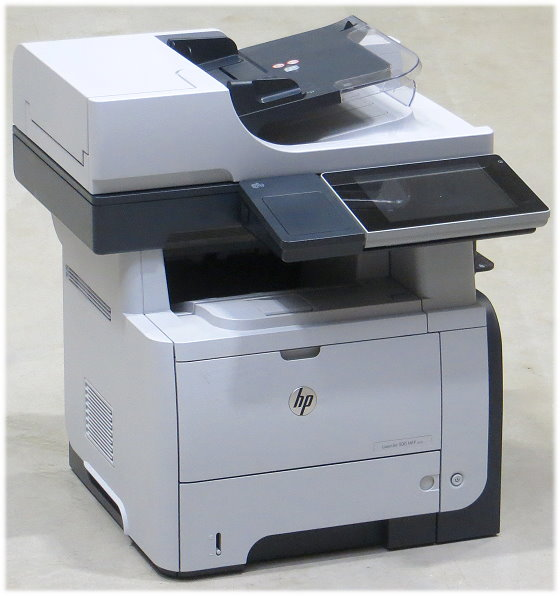 HP LJ 500 MFP M525f FAX Kopierer Scanner Laserdrucker ADF Duplex 139.500 Seiten