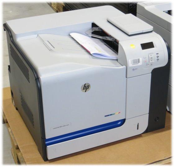 HP LaserJet 500 color m551dn 1GB Duplex LAN Farblaserdrucker 1.812 Seiten