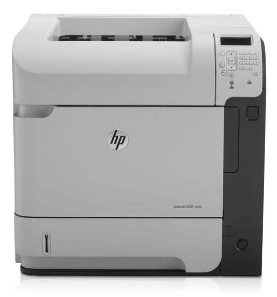 HP LaserJet 600 M602n 50 ppm 512MB unter 20.000 Seiten  LAN vergilbt