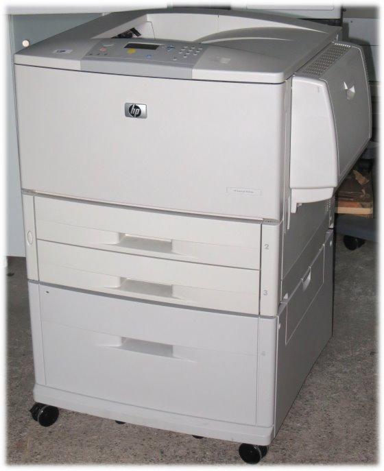 HP LaserJet 9050DN 50 ppm 128MB Duplex LAN 278.350 Seiten DIN A3 Laserdrucker