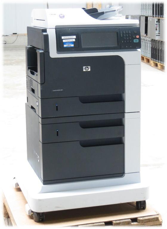 Hp Laserjet M4555 Mfp Fax Kopierer Drucker Scanner Adf Duplex