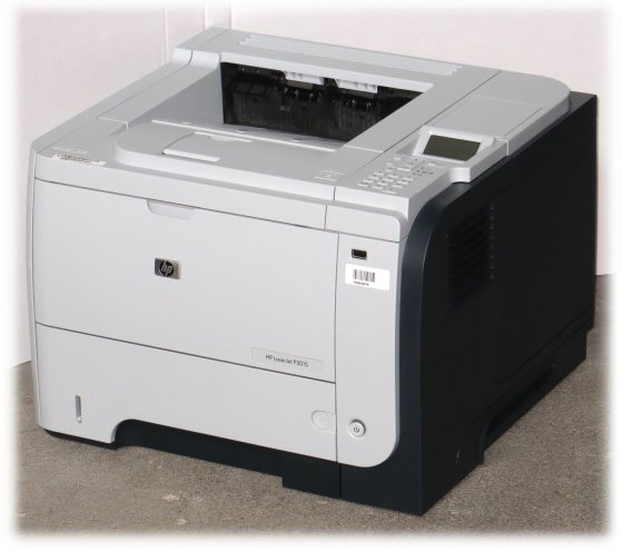 HP LaserJet P3015dn 40ppm 128MB Duplex unter 100.000 Seiten LAN Laserdrucker