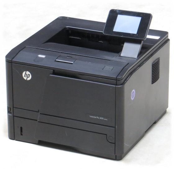 HP LaserJet 400 M401dw 33 ppm 256MB Duplex LAN WLAN Laserdrucker unter 100 Seiten