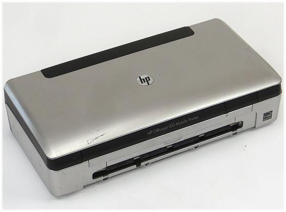 HP OfficeJet 100 Mobiler Tintenstrahl-Drucker für Notebook unterwegs o.NT/Tinte/Akku B-
