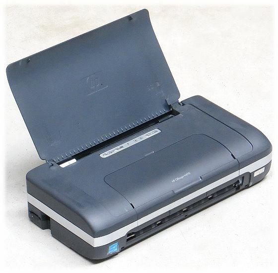 HP OfficeJet H470 Mobiler Tintenstrahldrucker USB mit Akku & Netzteil