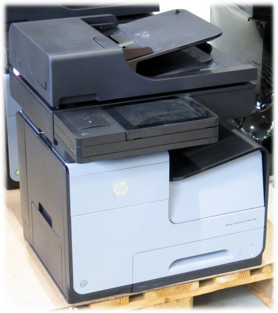 HP Officejet Color MFP X585f All-in-One FAX Kopierer Farb-Drucker NEU OVP