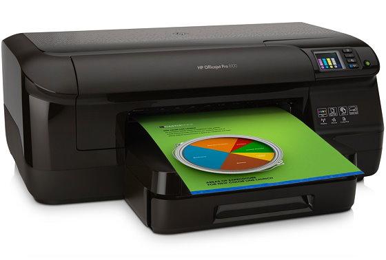 HP Officejet Pro 8100 Tintenstrahldrucker ohne Tinten