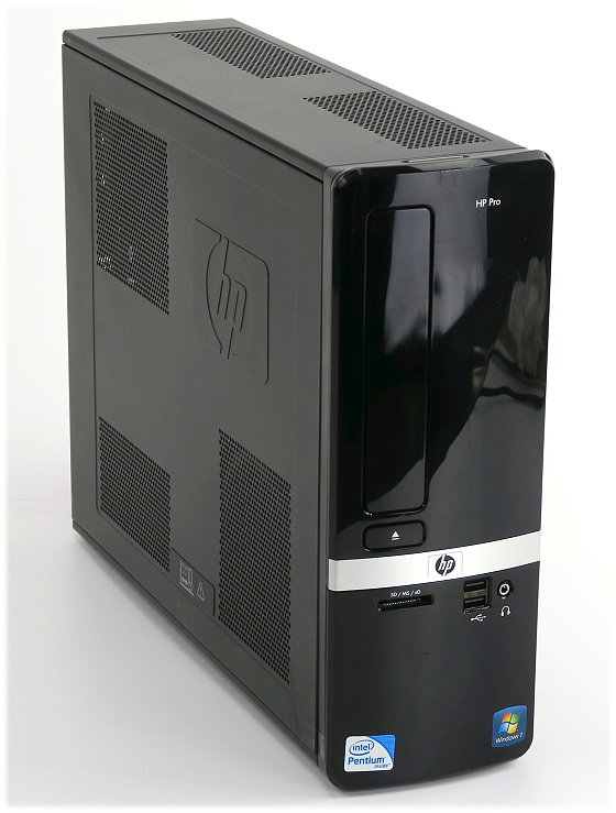HP Pro 3120 SFF Dual Core E5500 @ 2,8GHz 2GB 320GB DVD±RW Computer B-Ware