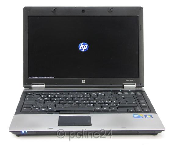 HP ProBook 6450b i3 2,53GHz 4GB 250GB DVDRW französisch (BIOS PW, ohne NT, Akku defekt) B-Ware