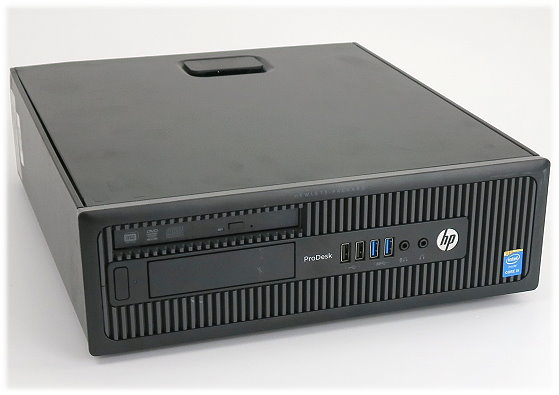 HP ProDesk 600 G1 Quad Core i5 4570S @ 2,9GHz 4GB 500GB DVD±RW SFF