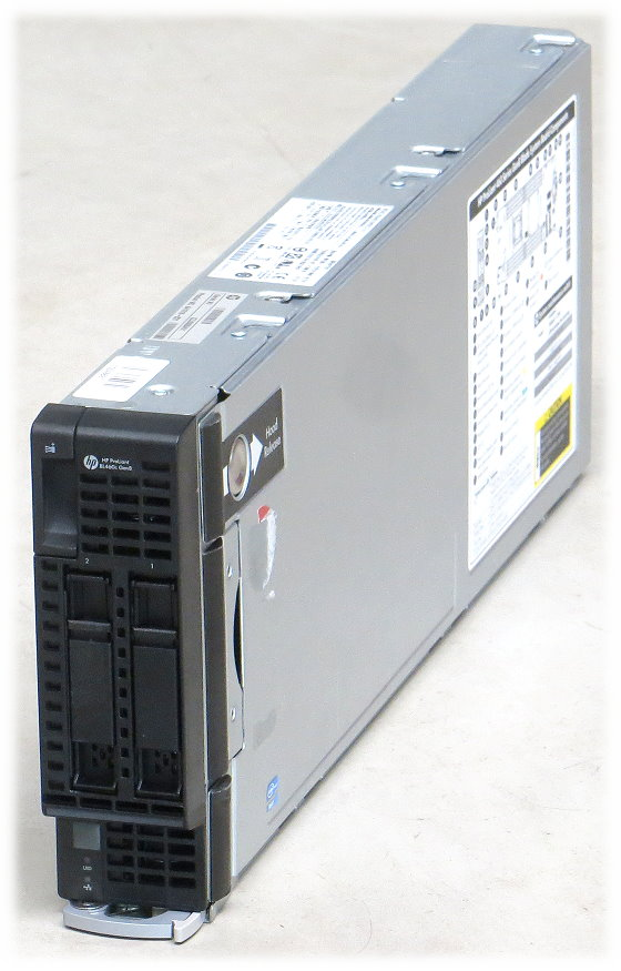 HP ProLiant BL460c G8 2x Xeon 8-Core E5-2670 @ 2,6GHz 256GB P220i SAS Blade Server