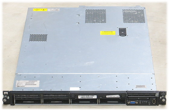 HP ProLiant DL360 G6 2x Quad Core X5570 @ 2,93GHz 12GB P410i SAS 2x PSU 750W