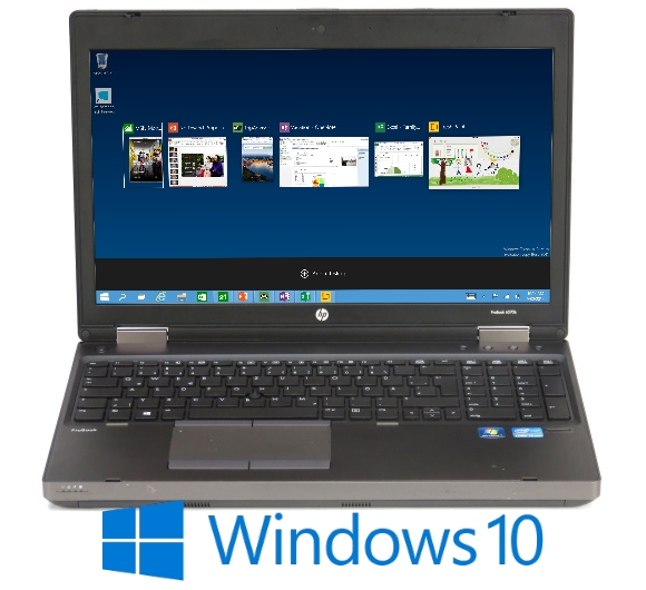 "15,6"" HP ProBook 6570b Core i5 3360M 2,8GHz 4GB 128GB SSD DVD±RW RS-232 USB 3.0 Win 10 Pro"