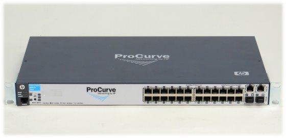 """HP Procurve 2610-24 Managed Switch J9085A 24x 100Mbit 2x 1GbE 2x SFP im 19"""" Rack"""