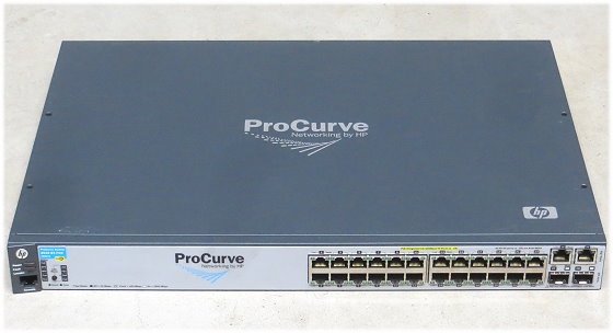 HP Procurve 2610-24-PWR Managed Switch 24x RJ-45 PoE Fast Ethernet J9087A