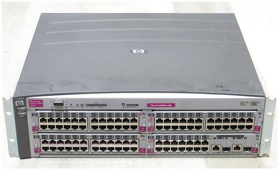 HP Procurve 5304xl modular Switch 16x Port Gigabit 72x Port Fast Ethernet B-Ware