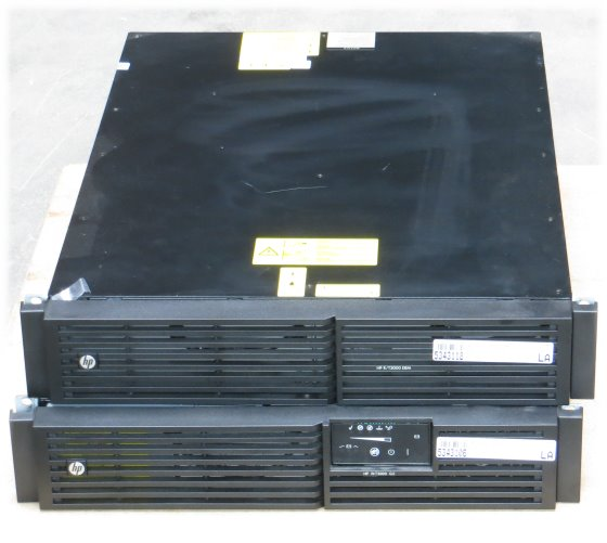 HP R/T 3000 G2 USV mit R/T 3000 ERM Batterie Pack defekt (Prüfsummenfehler)