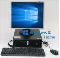"kompletter Arbeitsplatz Computer mit HP PC & 19"" TFT + Maus & Tast. + Win 10"