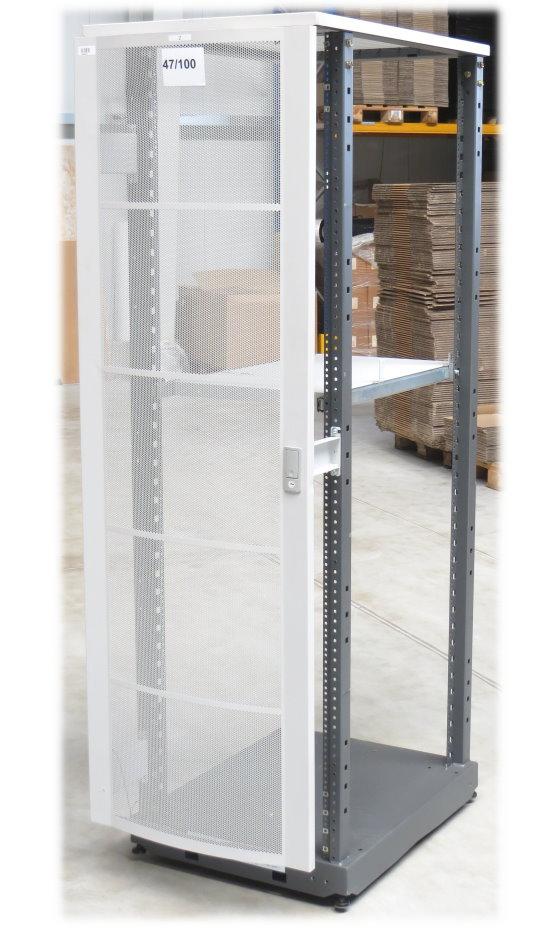 HP Rack A4902A Serverschrank 40HE/40U auf Rollen mit Zwischenboden ausziebar