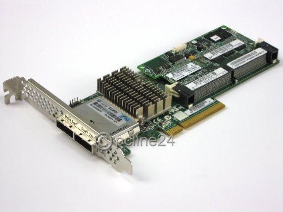 HP Smart Array P421 Puffer 2GB PCI-E x8 2x SFF-8088 RAID Controller 631674-B21
