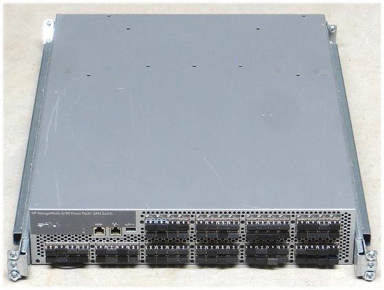 HP StorageWorks 8/80 Power Pack+ SAN Switch 80x 8Gb SFP aktiv im 19 Zoll Rack AM872A