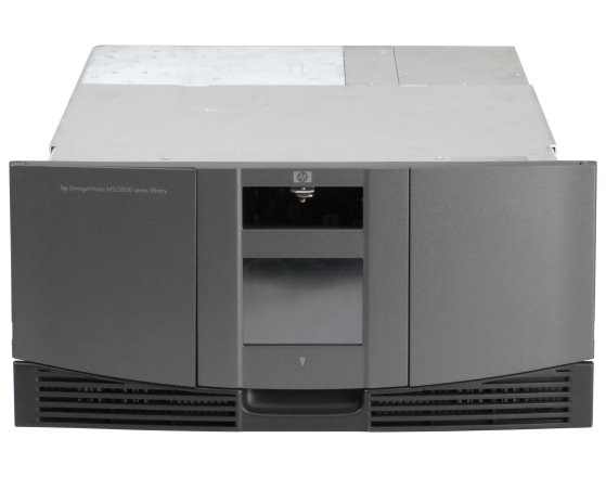 "HP StorageWorks MSL5030 Tape Library mit Ultrium LTO1 19"" Rack"