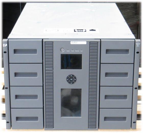 HP Storageworks MSL8096 2x Ultrium LTO-4 Tape Library (Password unbekannt)